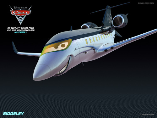 Disney Pixar Cars 2 wallpaper called Siddeley