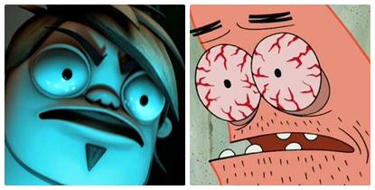 Similarities ~ Boog and Patrick ngôi sao