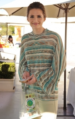 Stana at DPA Golden Globe Awards Gift Suite