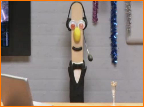 Stick Stickly in a Tux