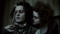 Sweeney Todd and Mrs Lovett - sweeney-todd screencap