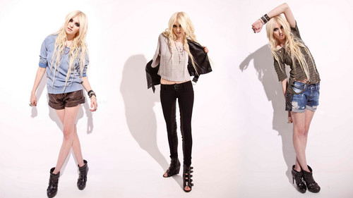 The Pretty Reckless wallpaper containing a well dressed person, a pantleg, and a legging titled Taylor Momsen