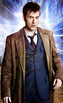 Doctor Who for Whovians! wallpaper containing a well dressed person and a business suit titled Ten x