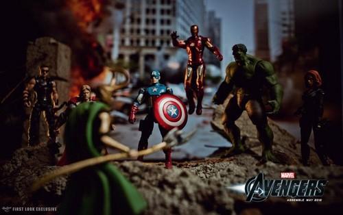 The Avengers vs. Loki