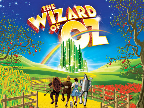 The Wizard of Oz wallpaper probably containing a diner, a multiplex, and a street titled The Wizard Of Oz