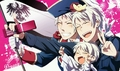 Triple Prussia - hetalia-prussia photo