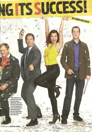 TvGuide NCIS Forever, 200th episode issue