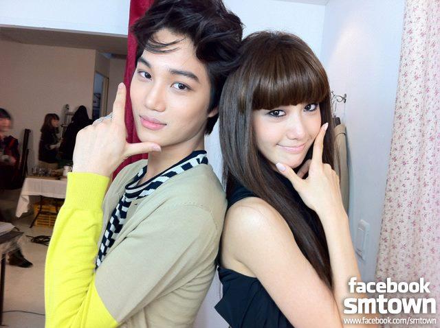 Live kai amp girls generation yoona exo m photo 28494781 fanpop