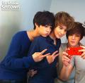 W Live KAI &amp; Se Hun &amp; SHINee's Taemin - exo-m photo