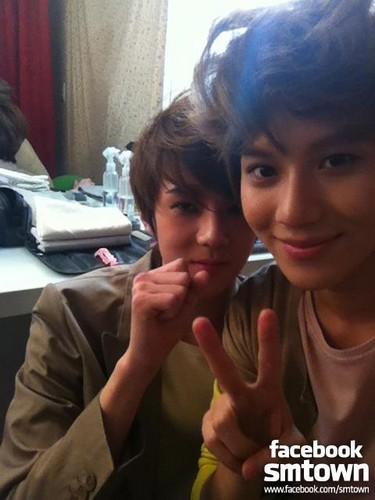 W Live Se Hun & SHINee's Taemin