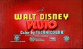 Walt Disney Screencaps - Pluto Shorts Title Card - walt-disney-characters screencap