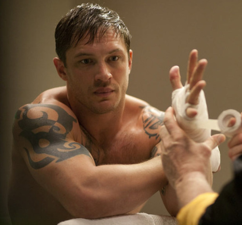 Tom Hardy wallpaper possibly with a neonate titled Warrior