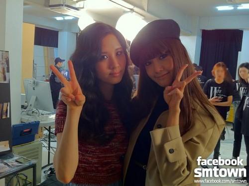 Yoona & Seohyun @ W LiVE with S.M. fashionistas