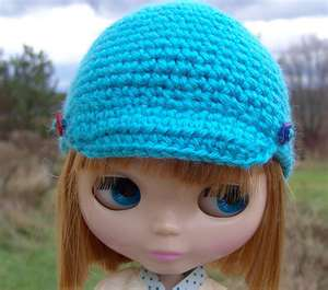 cute blythe in the blue