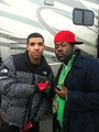 drake behind the scenes for the motto - aubrey-drake-graham photo