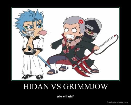 hidan vs grimmjow