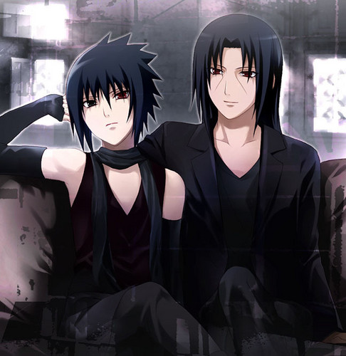 film wallpaper entitled itachixsasuke