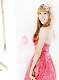 jessica girls generation wallpaper possibly with a gown, a dinner dress, and a strapless titled jessica