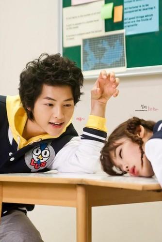 joong Ki & आई यू - Lecoq Sportif