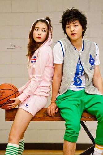 joong Ki & IU(アイユー) - Lecoq Sportif