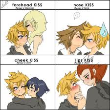 kisses for roxas
