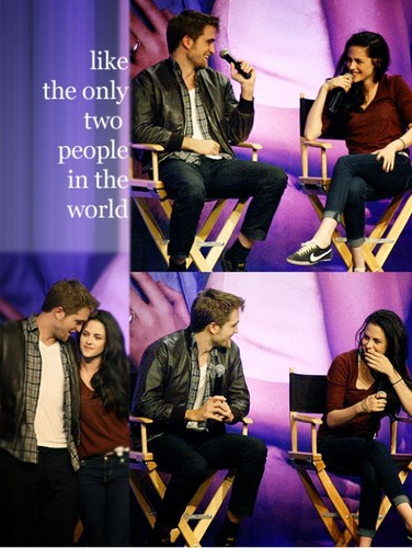 like the only two people in the world<3 R/K