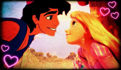 rapunzel and अलादीन