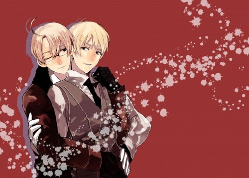 Yaoi wallpaper possibly with a kimono entitled usuk