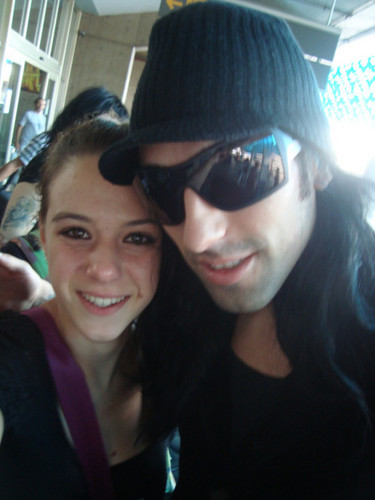 Christian Coma Hintergrund with sunglasses titled ☆ CC & a Brazilian Fan ☆