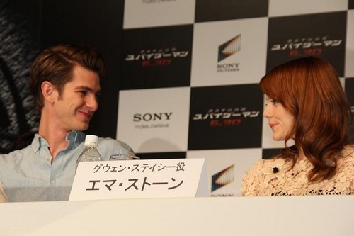 'The Amazing Spider-Man' Press Conference in jepang