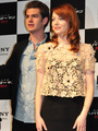 'The Amazing Spider-Man' Press Conference in Japan - andrew-garfield-and-emma-stone photo