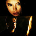 ❥ damon salvatore & katherine pierce - damon-and-katherine fan art