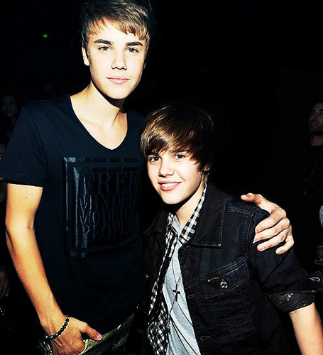 Justin Bieber kertas dinding probably with a business suit and a well dressed person called 2008 Justin, To 2012 Justin<3