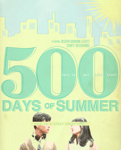 500 Days of Summer wallpaper containing a portrait entitled 500 DAYS
