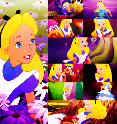 Childhood Animated Movie Heroines پیپر وال called Alice