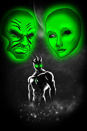 Ben 10: Ultimate Alien achtergrond called Alien X