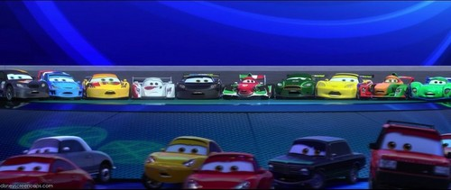 Disney Pixar Carros Imagens All The Race Stars Wallpaper And