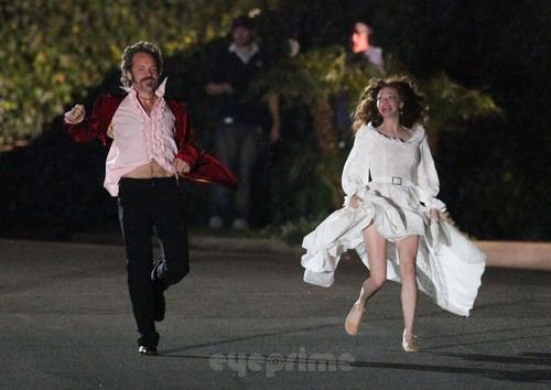 """Amanda Seyfried films """"Lovelace"""""""