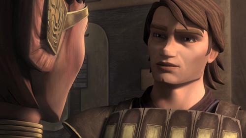 Clone wars Anakin skywalker kertas dinding titled Anakin Season 4