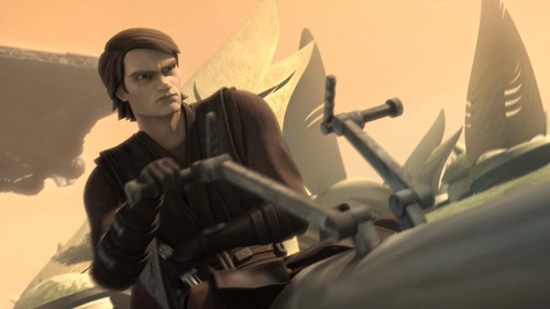 Clone wars Anakin skywalker wallpaper probably containing a rifleman, a navy seal, and a green beret titled Anakin Season 4