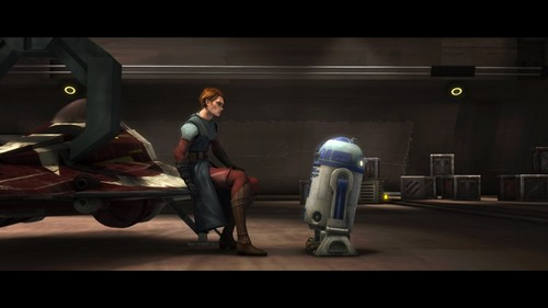 étoile, étoile, star Wars: Clone Wars fond d'écran probably containing a street, a living room, and a family room titled Anakin Skywalker