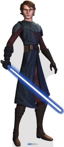 étoile, étoile, star Wars: Clone Wars fond d'écran probably containing a surcoat, a tabard, and a pick titled Anakin Skywalker