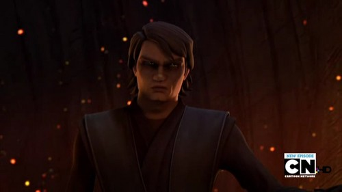 étoile, étoile, star Wars: Clone Wars fond d'écran probably containing a concert and a business suit titled Anakin Skywalker