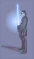Anakin in blue - the-anakin-skywalker-fangirl-fanclub fan art