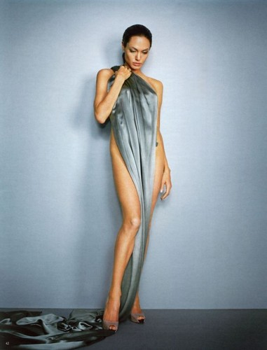 angelina jolie wallpaper probably containing a coquetel dress titled Angelina Jolie