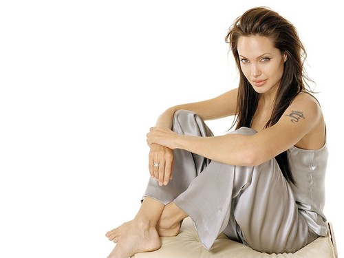 Angelina Jolie wallpaper containing a portrait titled Angelina Jolie