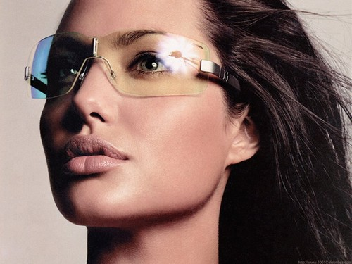 angelina jolie wallpaper with sunglasses titled Angelina Jolie