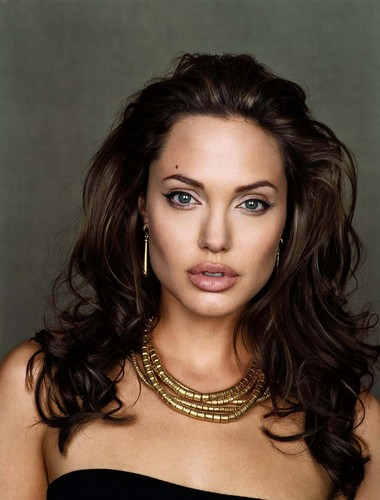 Angelina Jolie wallpaper containing a portrait entitled Angelina Jolie