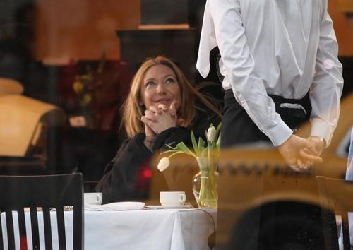 Anna on set of Fringe January 17, 2012