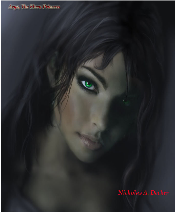 Arya the Elven princess